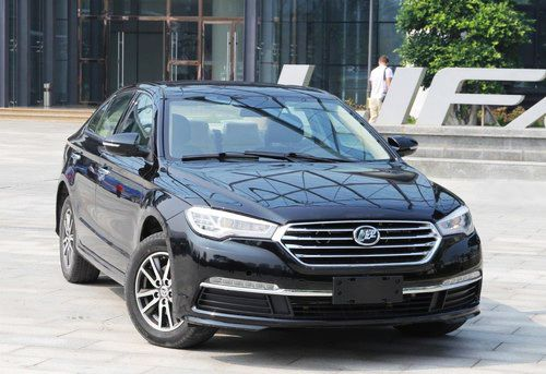 Lifan New Flagship is Mildly Germanic in Design