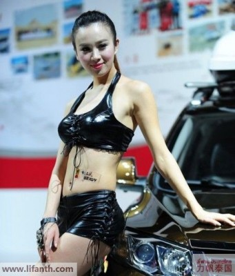 Beautiful creatures at the 2012 Guangzhou Auto Show-2-458x536