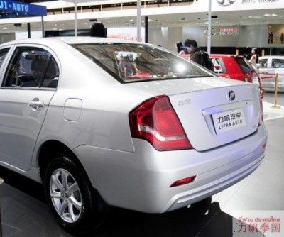 The Lifan 630: More Luxurious and More Upmarket